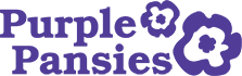 Purple Pansies Logo
