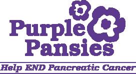 Purple Pansies Logo